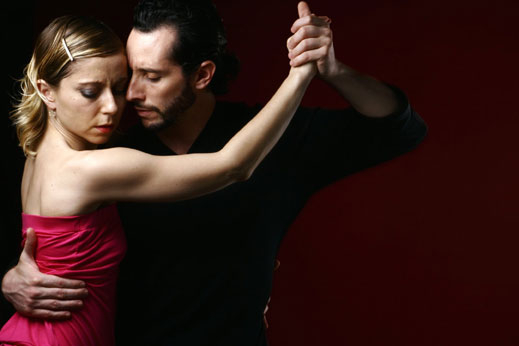 East Bay Argentine tango dance lesson and party